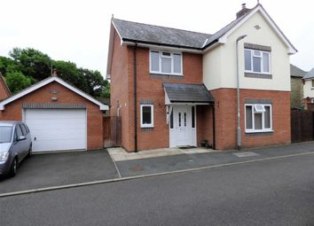 Thumbnail 4 bed detached house to rent in Lon Cafnant, Llanfair Caereinion, Welshpool
