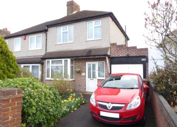 Thumbnail 3 bed semi-detached house for sale in Bedonwell Road, Upper Belvedere, Kent
