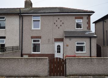 Thumbnail 3 bed semi-detached house for sale in Plymouth Street, Walney, Barrow-In-Furness, Cumbria