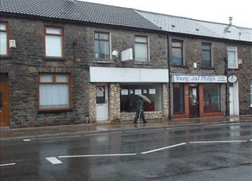 Thumbnail Retail premises to let in 76 Bute Street, Treorchy