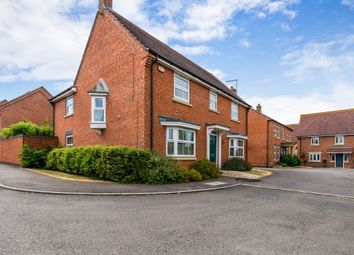 Thumbnail 4 bedroom detached house for sale in Bancroft Close, Wootton, Northampton