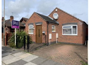 Thumbnail 2 bed detached bungalow for sale in Stokes Drive, Leicester