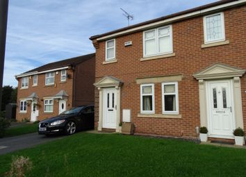 Thumbnail 3 bed semi-detached house to rent in Belton Drive, Ripley, Derbyshire
