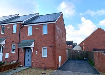 Thumbnail 2 bedroom end terrace house for sale in Bryn Y Telor, Coity, Bridgend