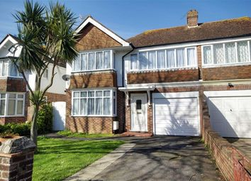Thumbnail 4 bed semi-detached house for sale in Hailsham Road, Worthing, West Sussex