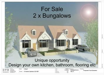 Thumbnail 5 bed detached bungalow for sale in Forterie Gardens, Ilford