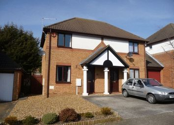 Thumbnail 2 bed semi-detached house to rent in Eelbrook Avenue, Bradwell Common, Milton Keynes