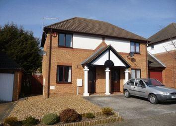 Thumbnail 2 bed semi-detached house to rent in Eelbrook Avenue, Bradwell Common, Milton Keynes