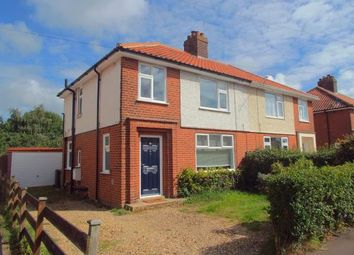 Thumbnail 3 bedroom semi-detached house for sale in Sprowston, Norwich, Norfolk