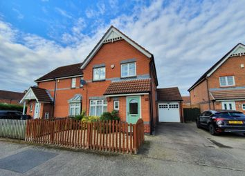 Thumbnail 3 bed semi-detached house for sale in Bewicke Road, Braunstone, Leicester