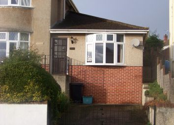 Thumbnail 1 bed semi-detached bungalow to rent in Brendon Avenue, Weston-Super-Mare