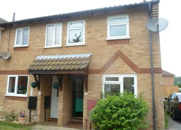 Thumbnail 2 bed end terrace house to rent in Winston Close, Felixstowe