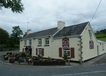 Thumbnail Commercial property for sale in The Bridgend Inn, Crugybar, Llanwrda, Carmarthenshire