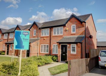 Thumbnail 3 bed semi-detached house for sale in Thornley Green, Lostock Gralam, Northwich