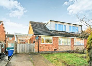 Thumbnail 3 bed semi-detached bungalow for sale in Lamond Close, Mansfield, Nottinghamshire