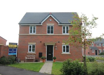Thumbnail 3 bed semi-detached house for sale in Heron Way, Sandbach