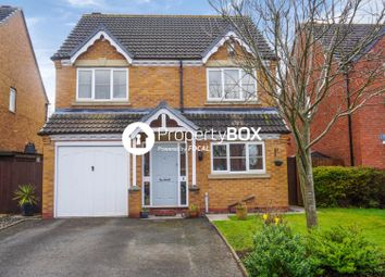 Thumbnail 4 bed detached house for sale in Goodrich Close, Telford