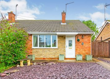 Thumbnail 2 bed semi-detached bungalow for sale in York Way, Raunds, Wellingborough