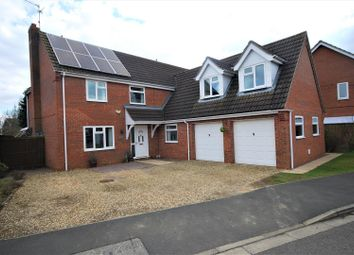 Thumbnail 5 bed detached house for sale in Vicarage Close, Cowbit, Spalding