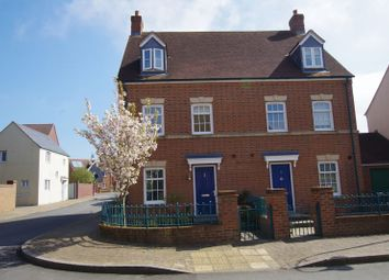Thumbnail 4 bed semi-detached house for sale in Leaze Street, Swindon