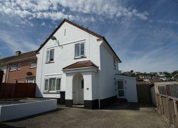 Thumbnail 3 bed end terrace house for sale in Langridge Road, Paignton