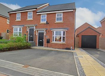 Thumbnail 3 bed semi-detached house for sale in Newman Avenue, Beverley