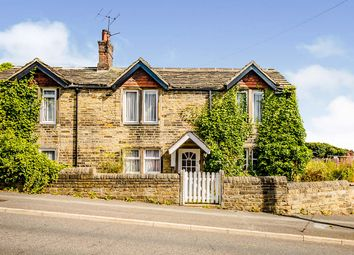 Thumbnail 4 bed cottage for sale in Deighton Road, Deighton, Huddersfield, West Yorkshire