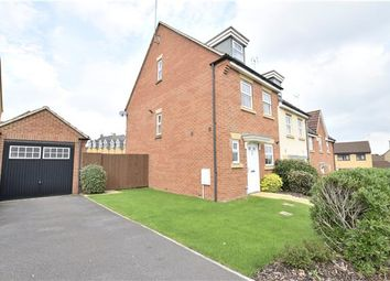 Thumbnail 3 bedroom town house for sale in Cade Close, Kingswood