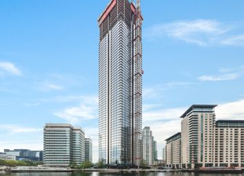 2 bed flat for sale in South Quay Plaza Tower, Canary Wharf, London E14