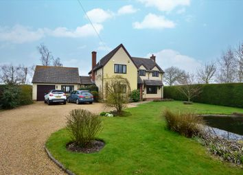 Thumbnail 4 bed detached house for sale in Ashfield Green, Wickhambrook, Newmarket