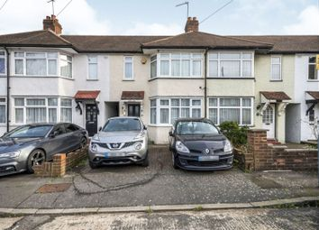 Thumbnail 2 bed terraced house for sale in Blandford Close, Croydon
