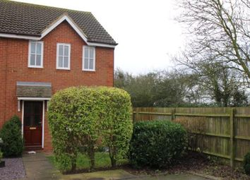 Thumbnail 2 bed end terrace house to rent in Jasmine Gardens, Rushden