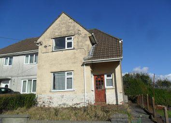 Thumbnail 2 bedroom semi-detached house for sale in William Street, Trebanos, Pontardawe, Swansea.
