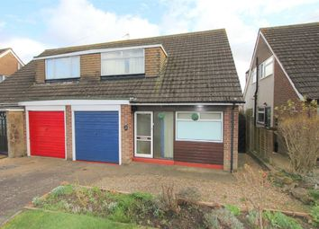 Thumbnail 3 bed semi-detached house for sale in Priory Crescent, Roade, Northampton