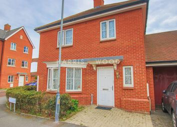 Thumbnail 3 bed detached house for sale in Kirk Way, Colchester