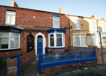 Thumbnail 4 bed terraced house for sale in Albert Terrace, Middlesbrough