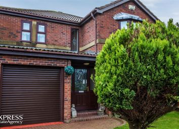 Thumbnail 4 bed detached house for sale in The Hollow, Ashington, Northumberland