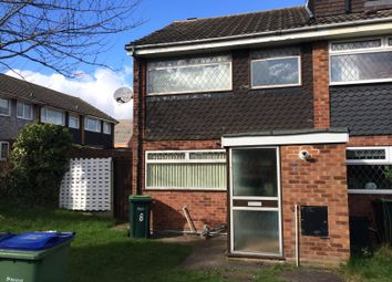 Thumbnail 3 bedroom end terrace house to rent in Franchise Gardens, Darlaston, Wednesbury