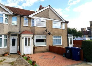 Thumbnail 2 bed terraced house for sale in Kingsmead Drive, Northolt, Middlesex, London