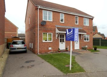 Thumbnail 2 bed semi-detached house to rent in Maidens Close, Dussindale, Norwich