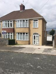 Thumbnail 3 bed semi-detached house to rent in Lon Cothi, Cockett, Swansea, Abertawe