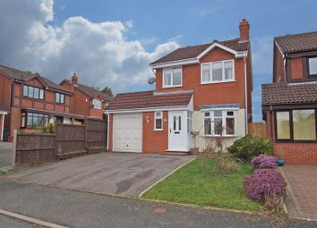 Thumbnail 3 bed detached house for sale in Node Hill Close, Studley