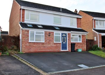 Thumbnail 4 bed detached house for sale in Oak Crescent, Woolaston, Lydney