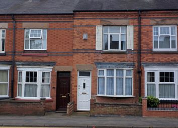 Thumbnail 2 bed terraced house to rent in London Road, Oadby, Oadby, Leicester, Leicestershire