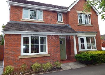 Thumbnail 4 bed detached house for sale in Brigantine Drive, Newport, Gwent.