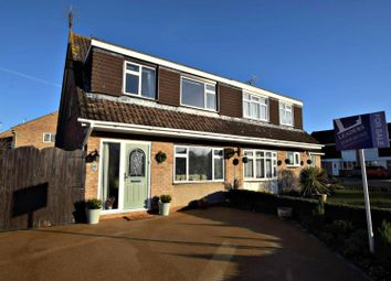 Thumbnail 3 bed semi-detached house for sale in Pondholton Drive, Witham