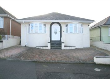 Thumbnail 3 bed detached bungalow for sale in Gower Ridge Road, Plymstock, Plymouth