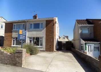 Thumbnail 2 bed semi-detached house for sale in Cae Talcen, Pencoed, Bridgend .