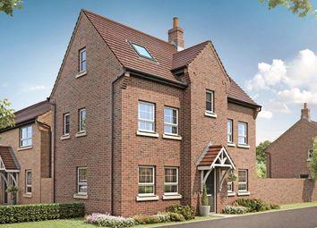 "Thumbnail 4 bedroom detached house for sale in ""Hesketh"" at Grange Road, Hugglescote, Coalville"