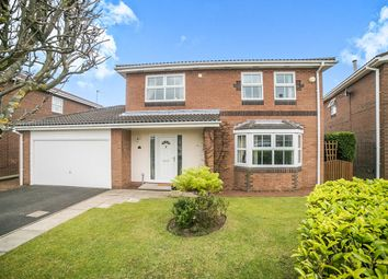 Thumbnail 4 bed detached house for sale in Glenfield Avenue, Cramlington